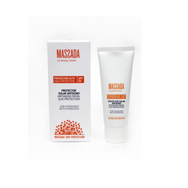 Anti-aging Facial Sun Protection - High Protection - SPF50